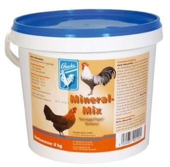Backs Mineral-Mix für Geflügel