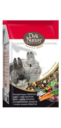 Deli Nature Premium 5 Sterne Zwergkaninchen Sensitive
