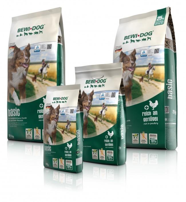 Bewital Bewi Dog Basic 25kg Sack