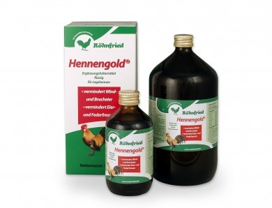 Röhnfried Hennengold + 100ml Vitamin ADEC gratis