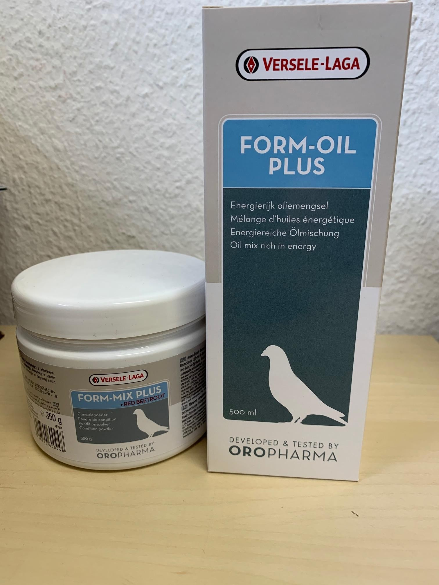 Angebot: 1x Oropharma Form Oil Plus + 1x Oropharma Form Mix Plus