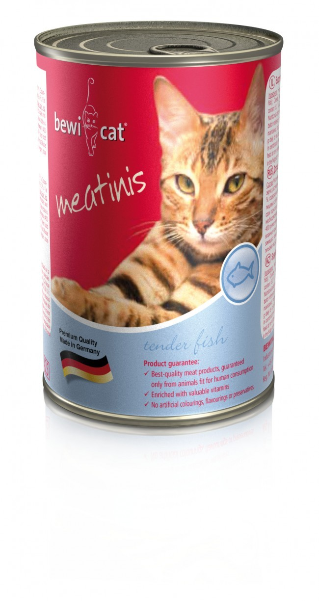 Bewi Cat meatinis mit Lachs