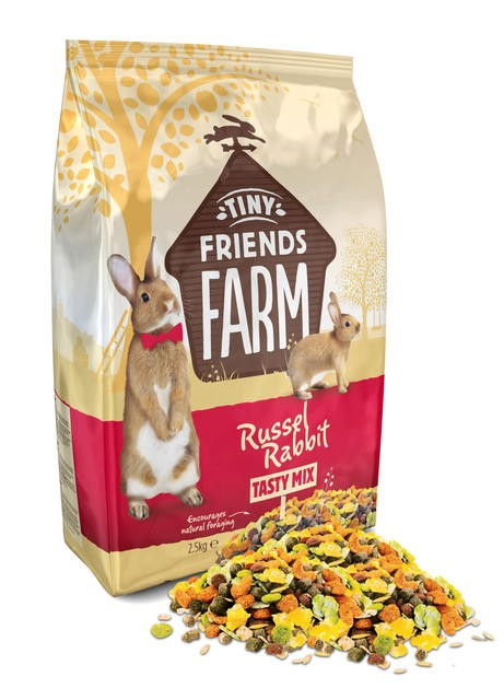 Tiny Friends Farm Russel Rabbit Tasty Mix